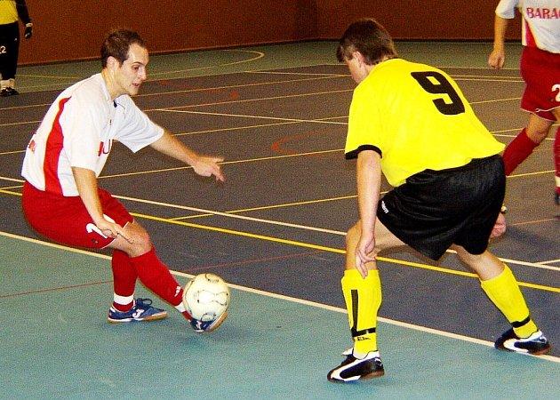 Futsalisté Tatranu Baracuda Jakubčovice. Ilustrační foto.
