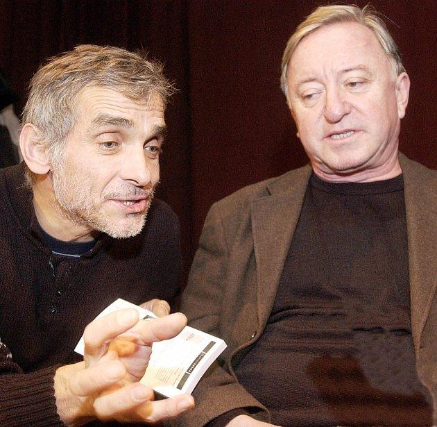 Hru Don Quijote přebralo duo Jiří Lábus a Oldřich Kaiser po slovenských hvězdách Júliu Satinském a Milanu Lasicovi.