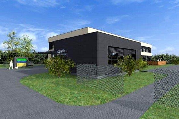 Vizualizace budoucí podoby komunitního centra v Kopřivnici.