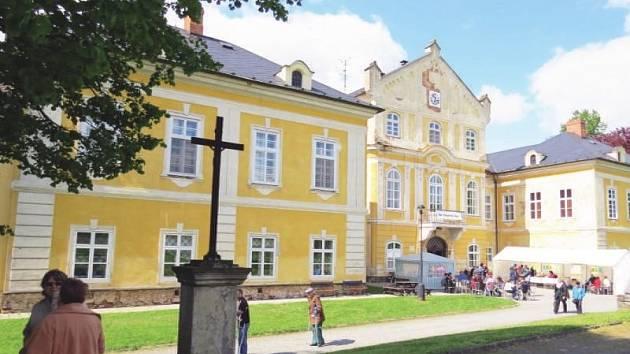 Zámek Nová Horka. Ilustrační foto.
