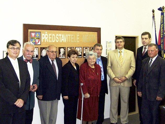 V padesátileté historii města Studénky stálo doposud devět starostů a předsedů.