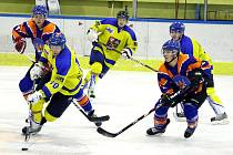 Juniorka Studénky ve šlágru krajské hokejové ligy podlehla Hodonínu.