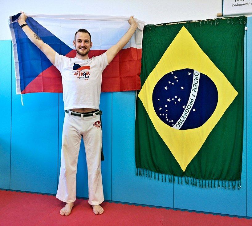 Michal Toman z Nového Jičína se capoieře věnuje už devatenáct let.