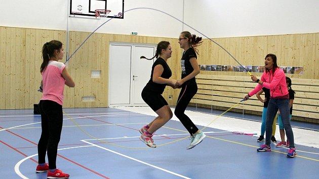 Sportovní hala v Šenově u Nového Jičína