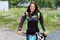 Sabina Košárková má v závodech bmx mnoho úspěchů doma i v zahraničí. Ráda by v budoucnu uspěla i na olympiádě.