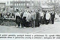 Oslava VŘSR v Novém Jičíně.