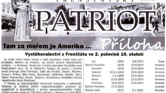 Pasáže textu, naprosto shodné s textem z publikace vydané roku 1992, se objevily v příloze občasníku Frenštátský patriot. Autor textů zvažuje právní kroky.