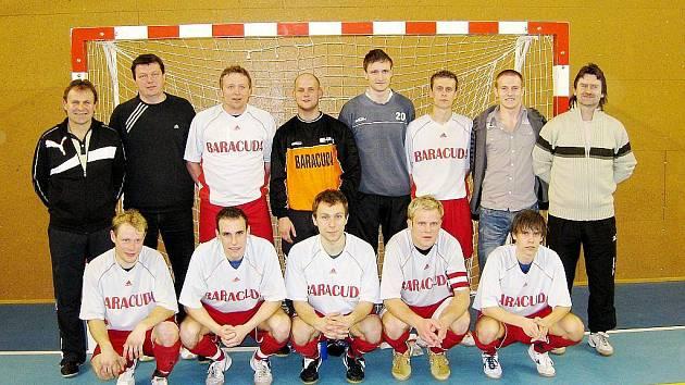 Futsalový tým Tatran Baracuda Jakubčovice odehraje ve středu finále poháru proti CC Satum Czech Jistebník.