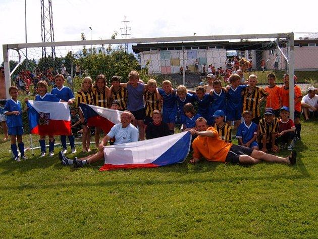 Mladší přípravka TJ Nový Jičín vyhrála mezinárodní turnaj v rakouském Salzburgu.