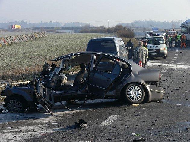 Tragická nehoda u Palačova, místní části Starého Jičína.