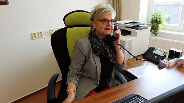 Renata Mikolašová, starostka Bílovce, o sobě říká, že je vždy pozitivně naladěná.