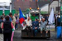 V sobotu 29. srpna proběhl na Novojičínsku šenovský Škrpál. Ten se letos nesl v duchu nedávných povodní, což odhalil například netradiční oděv starosty Vladimíra Demetera.
