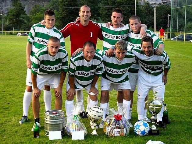 Vítěz turnaje Jakuby 2011, tým Beach Boys Odry.
