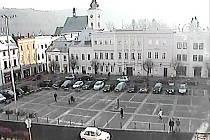 Monitorované místo - náměstí v Odrách.