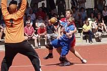 Mezizemské utkání v národní házené mezi výběry moravských hráčů proti reprezentantům klubů z Čech.