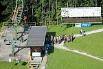 Pro veřejnost jezdí lanová dráha na Horečkách po rozsáhlé rekonstrukci opětovně od roku 2016.