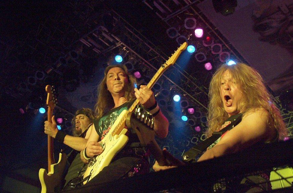Tak hrál Iron Maiden předloni ve Zlíně.