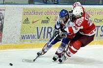 Hokejisté Nového Jičína v domácím utkání prohráli o branku s Opavou.