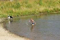 Přehradní nádrž Čerťák v Novém Jičíně je oblíbeným vyhledávaným místem.