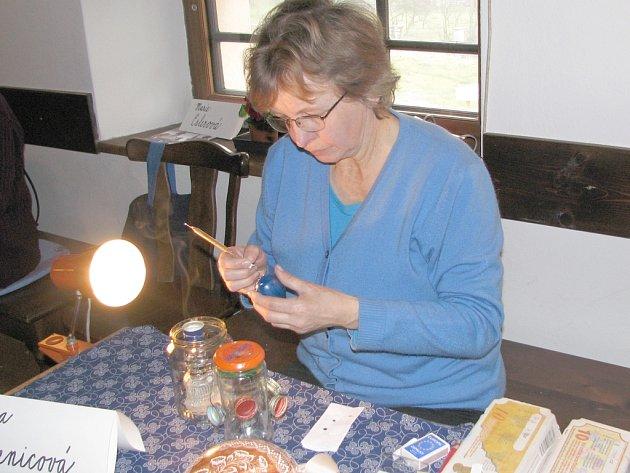 Blížící se velikonoce, připomněla výstava, ktreá se uskutečnila v sobotu 8. a neděli 9. března v Libhošti na Fojtství.