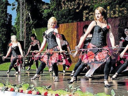 Na festivalu Šostýnská Venuše jsou každým rokem k vidění tance všeho druhu.