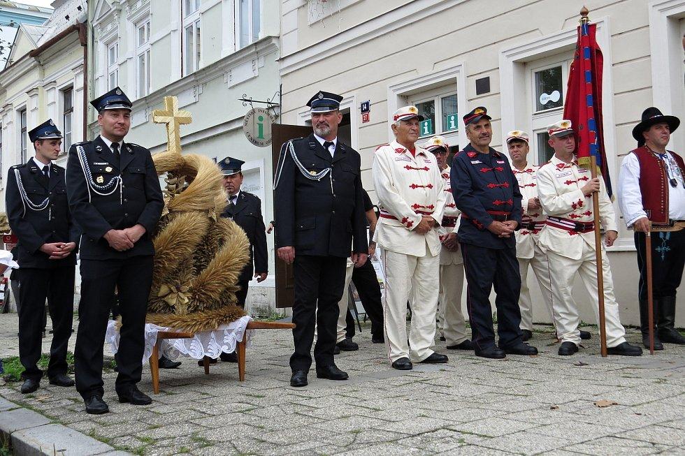 Premiérové dožínky se konaly v Odrách v sobotu 28. srpna 2021.