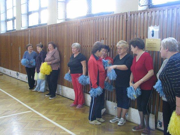 Občané všech věkových kategorií se sešli v sobotu do závišické tělocvičny, aby si v zimních měsících zasportovali.