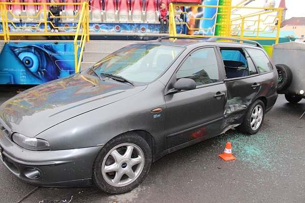Nehoda vMořkově.