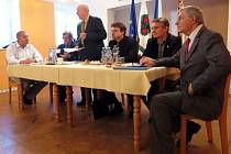 Výroční členská schůze novojičínské jednoty Československé obce legionářské (ČSOL), která se uskutečnila v sobotu 31. ledna v klubu Obecního úřadu Šenov u Nového Jičína.