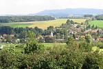 Závišice - malebná vesnička obklopená přírodou.