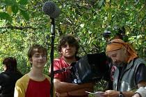 O víkendu 19. a 20. září se děti z Kopřivnice přesunuly na táborovou základnu na Kletné a připravovaly zde natáčení preventivních videoklipů.
