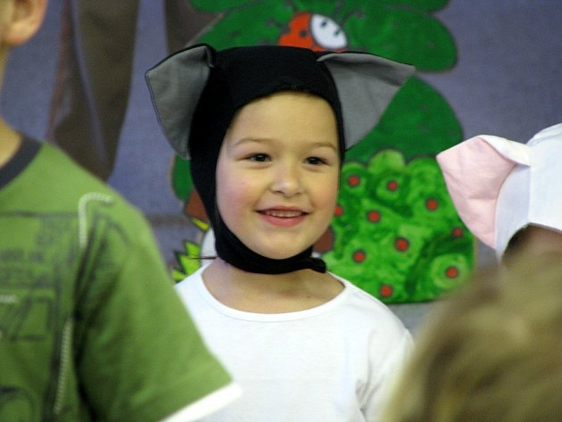 Mateřská škola Palováček v Novém Jičíně pořádala vánoční besídku.