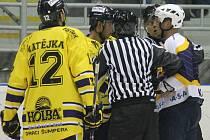 II. hokejová liga, sk. Východ, 7. kolo:  HC Kopřivnice – Draci Šumperk 6:7 (3:4, 3:3, 0:0)