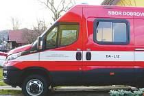 Devítimístný automobil DA L1Z na podvozku Iveco Daily dostaly od města Kopřivnice jednotky dobrovolných hasičů v místních částech Mniší a Lubina.