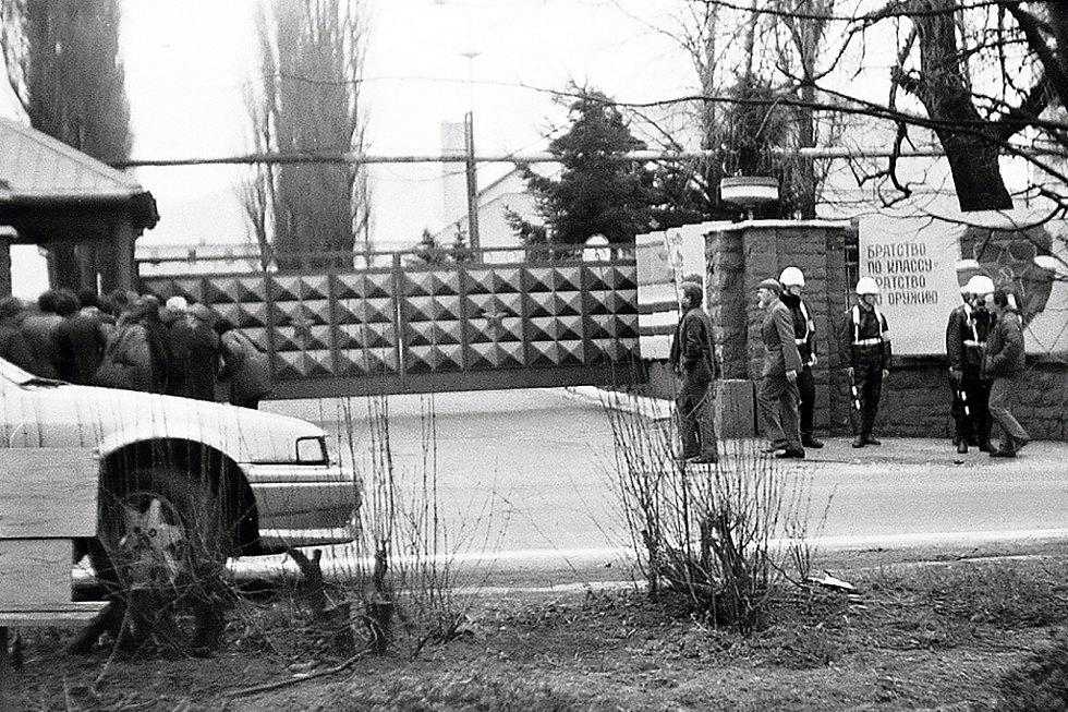 Sovětští vojáci okupovali frenštátská kasárna a město déle než jednadvacet let.