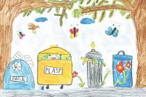 Základní škola Alšova z Kopřivnice se zúčastnila výtvarné soutěže Obrázky pro Tondu, která probíhala v rámci školního vzdělávacího programu Tonda Obal na cestách.