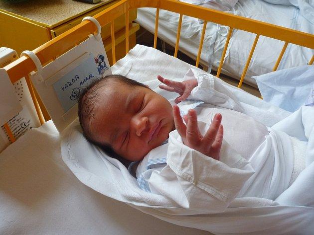 MICHAL VARGA, Odry, nar. 25.11.2012, 51cm, 3,80kg. Nemocnice Nový Jičín.