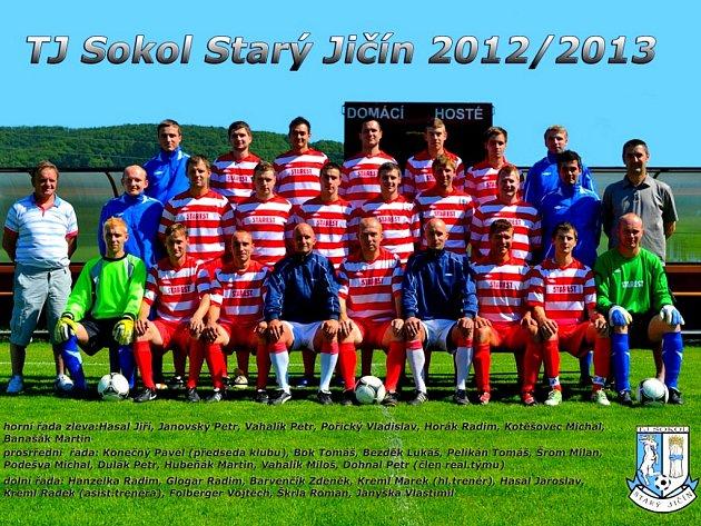 Mužstvo Starého Jičína bylo nečekaným, zato příjemným překvapením uplynulé sezony v I. B třídě.
