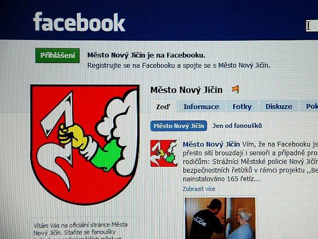 Stránky města Nový Jičín jsou na síti Facebook aktivní od čtvrtku 21. ledna.