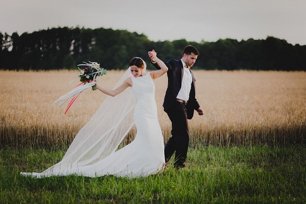 Adam a Kristýna Moravovi, Mankovice, datum svatby: 23. 7. 2016