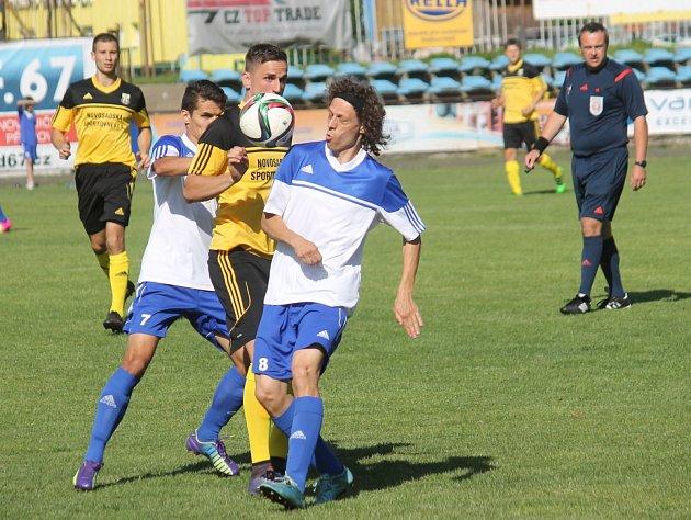 Divizní fotbalisté Nového Jičína inkasovali v posledním zápase sezony vyrovnávací branku v 88. minutě a skončili čtvrtí. FK Nový Jičín – FK Nové Sady1:1.