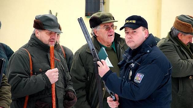 Policejní kontroly u myslivců dopadly dobře.