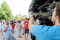 S prací kabelové televize TV Odra se mohli obyvatelé Studénky seznámit například na dni města. Pokud měli zájem, mohli nahrát vlastní vzkaz, který byl poté odvysílán.