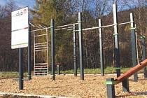 Workoutové hřiště bude slavnostně otevřeno v dubnu příštího roku.