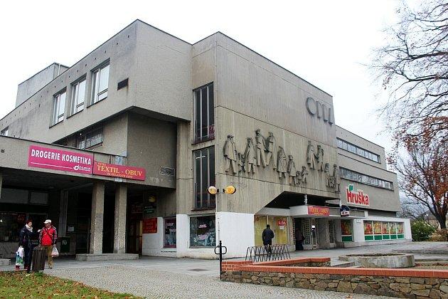 Obchodní dům Odra v centru Oder.