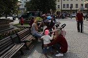 Letošní ročník Recyklojízdy začal ve středu 13. června ve Frenštátě pod Radhoštěm na náměstí Míru.
