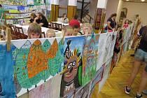 Indiánské odpoledne s vyhodnocením 7. ročníku výtvarné soutěže Western očima dětí se uskutečnilo v sobotu 18. června v Kulturním domě v Suchdole nad Odrou.