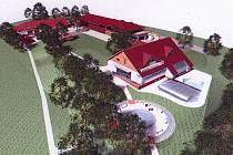 Takto by v budoucnu mohla vypadat bývalá Bumbalova továrna.