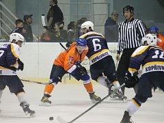 II. hokejová liga, sk. Východ, 2. kolo: HC Kopřivnice – SHK Hodonín 3:5