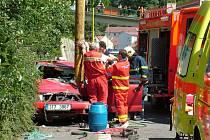 Dopravní nehody jsou častým místem, kde je rukou záchranářů potřeba.